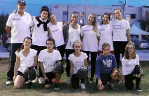 Le ragazze del Softball a Massa