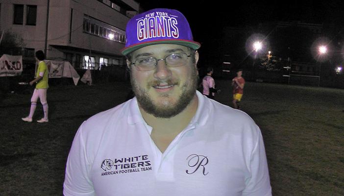 Francesco Martini dei White Tigers Massa