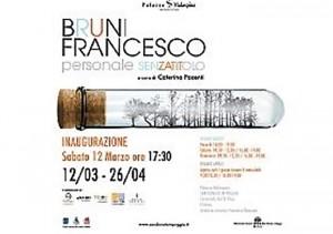 Francesco Bruni espone al Palazzo Malaspina di Firenze